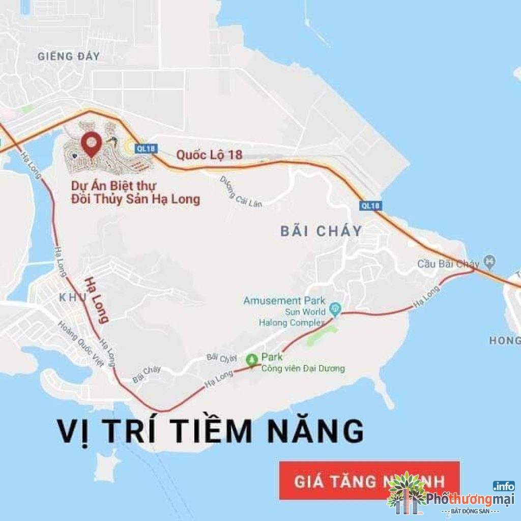 vi tri du an biet thu doi thuy san ha long
